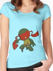 Cool But Rude Raph Women's Fitted Scoop T-Shirt