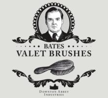 Bates Valet Brushes - Downton Abbey Industries by Rob Stephens
