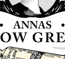 Annas Elbow Grease  - Downton Abbey Industries Sticker