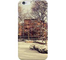 Winter - East Village - New York City iPhone Case/Skin