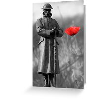 The Soldier Greeting Card