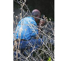 Hidden In the Brush Photographic Print