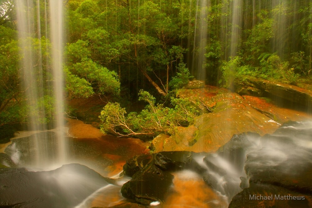 Lower Somersby Falls .. a view sublime by Michael Matthews
