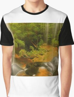 Lower Somersby Falls .. a view sublime Graphic T-Shirt