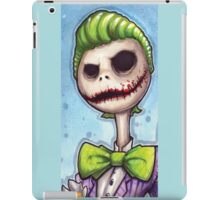 joker Jack the nightmare before christmas iPad Case/Skin