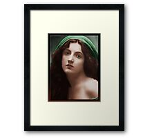 The Virgin (in Oil) Framed Print