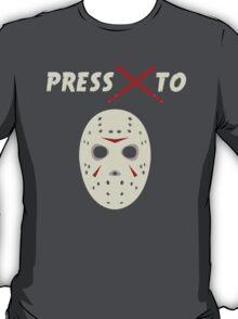 Press X To Jason T-Shirt