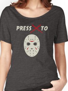Press X To Jason Women's Relaxed Fit T-Shirt