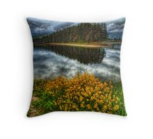 Just a bridge away Throw Pillow