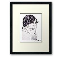 Adele - 2012 Framed Print