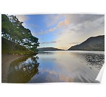 The Lake District: On the Shores of Ullswater Poster