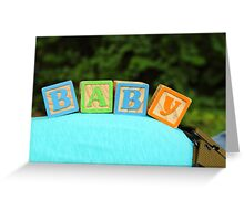 Baby Bump Greeting Card