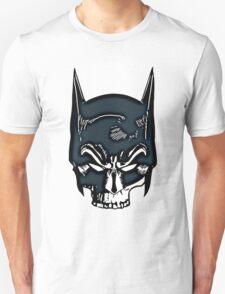 Batman Skull Face Grunge T-Shirt