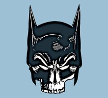 Batman Skull Face Grunge Unisex T-Shirt