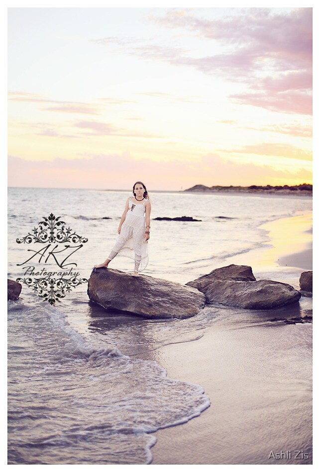 Hopetoun Beach Serenity by Ashli Zis