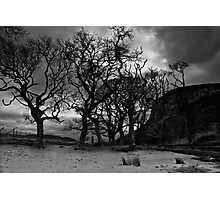 Under Carrol Rock - Loch Brora Photographic Print