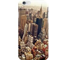 New York City From Above iPhone Case/Skin