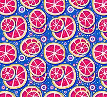 Grapefruit Slice Pattern by SaradaBoru