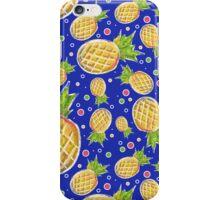 Chalk Pastel Pineapple Pattern iPhone Case/Skin