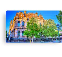 The Law Courts Building and Old Town Hall - Bendigo, Victoria Metal Print