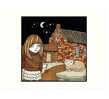 Belle & Binky (Barra Kirk) Art Print