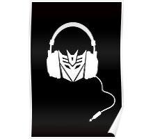 Dj Decepticon Poster