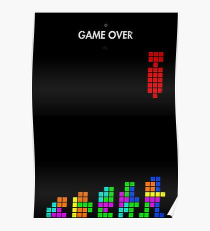 99 Steps of Progress - Game over Poster