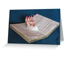 Halloween Horror Hand Greeting Card