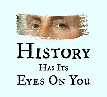 History Has Its Eyes On You - George Washington (Hamilton: An American Musical) by Caulin Smith