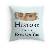 History Has Its Eyes On You - George Washington (Hamilton: An American Musical) Throw Pillow