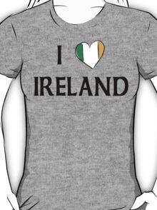 I Love Ireland T-Shirt