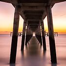 Symmetry Under The Pier by Pete Latham