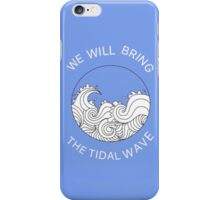 Pierce The Veil - a match into water  iPhone Case/Skin