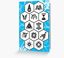 EXO Card 2 Greeting Card