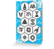 EXO Card 2 Greeting Card