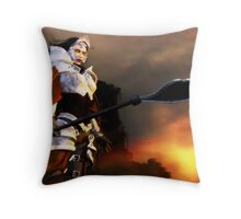 Valkyria Throw Pillow