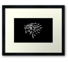 Dire wolf Framed Print