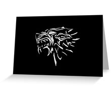 Dire wolf Greeting Card