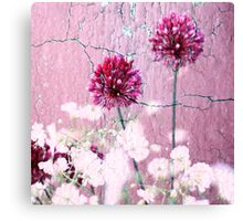 Purple on Purple Canvas Print