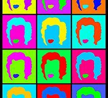 Minimalist Woman Colour Repeats by AlliVanes