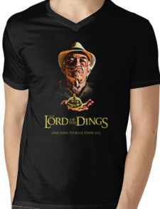 Lord of the Dings Mens V-Neck T-Shirt
