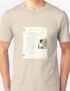 old grungegrunge VINTAGE POEM BY TIA KNIGHT black widow T-Shirt