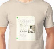 old grungegrunge VINTAGE POEM BY TIA KNIGHT black widow Unisex T-Shirt