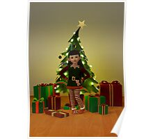 The Christmas Elf Poster