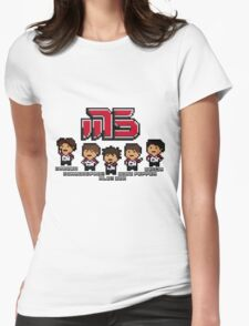 Moscow Pixel 5 Womens Fitted T-Shirt