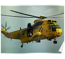 Westland Sea King HAR3 Poster