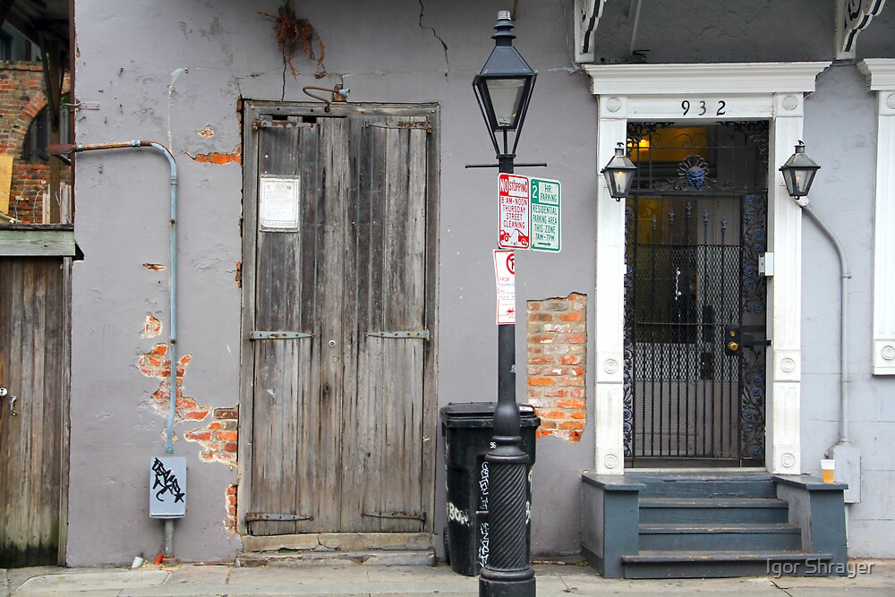 New Orleans Windows and Doors IV by Igor Shrayer