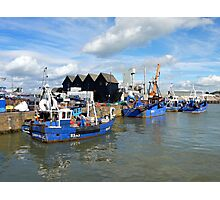 Whitstable Harbour Photographic Print