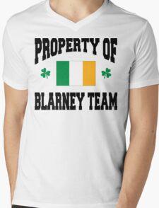 Blarney Mens V-Neck T-Shirt