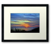 Sunsets 11 Framed Print